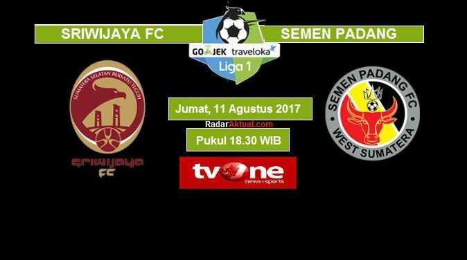 Derby Sumatera Pertemukan Sriwijaya FC Vs Semen Padang, Berakhir Imbang