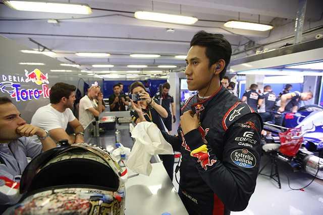 Sean Gelael Menuju Balap F1