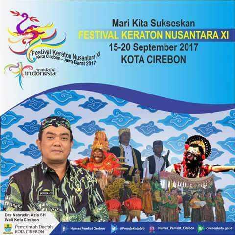 Jadwal FKN XI 2017 di Kota Cirebon