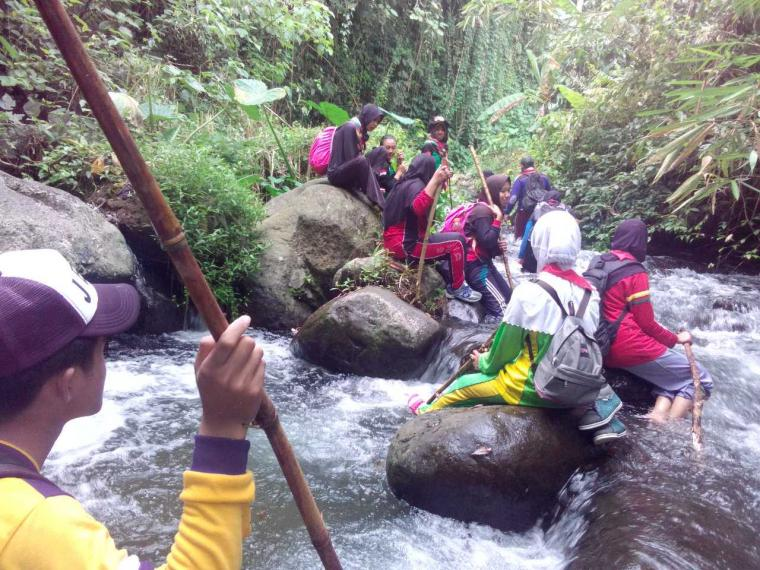 Rekruitmen, UKM Pramuka STIKES Banyuwangi 'Kembali ke Alam'