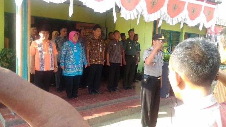 Pupuk Silaturahmi Forkopimcam Demak Kota Gelar Apel Bersama