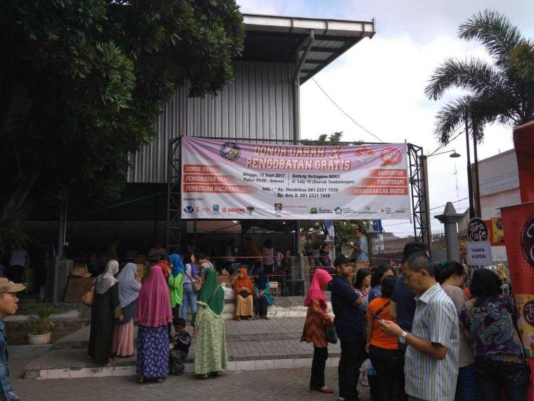 Pengobatan Gratis, Persembahan Gereja MDKS untuk Kota Malang