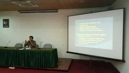 Bimtek Sosialisasi Pedoman Tata Kearsipan Satker Sulawesi Selatan LHK