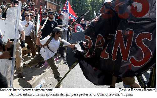 Dari Kerusuhan Charlottesville, Virginia-Menguak Perpolitikan AS