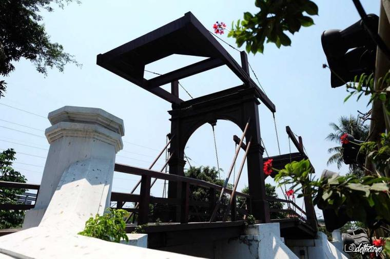 Jembatan Kota Intan, Jejak Kebesaran Batavia pada Masanya