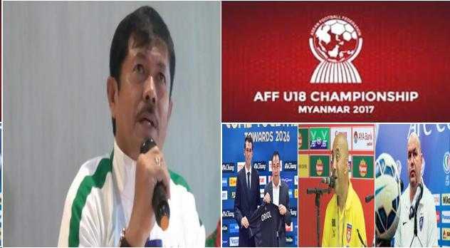 Indra Sjafri Dikeroyok 3 Pelatih Eropa di Semifinal Piala AFF 2017