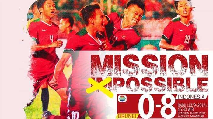 Cukur Brunei 8-0, Timnas U-19 Tatap Semifinal