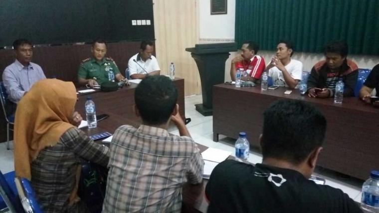 Dandim 0813 Bojonegoro Gelar Pertemuan dengan Wartawan