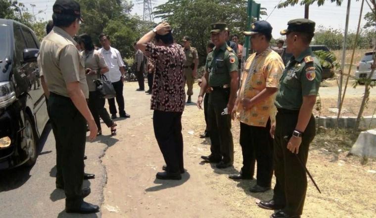 Bersama Jajaran Forkopimda Bojonegoro, Dandim 0813 Sambut Kunker Kepala BNPB