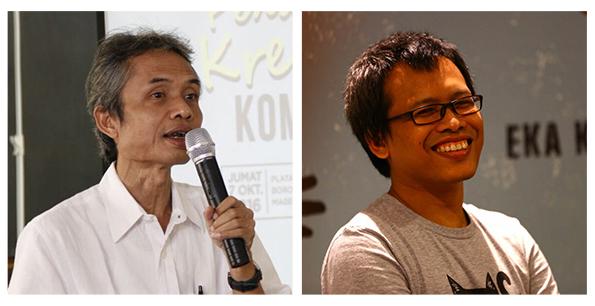 Sharing Session: Sastra<br> Joko Pinurbo & Eka Kurniawan