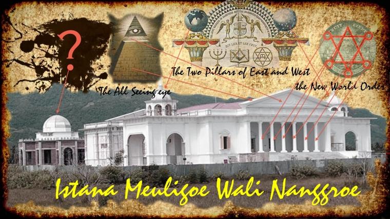 Jejak Freemasonry di Meuligoe Wali Nanggroe