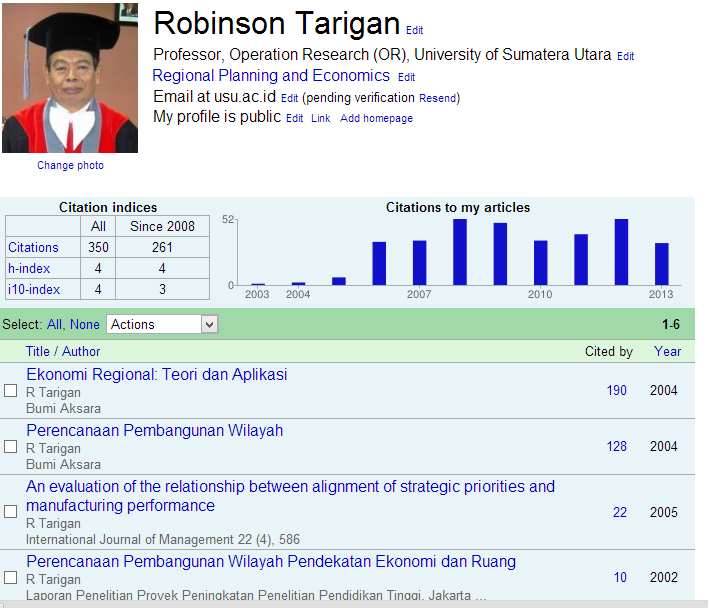 Bangga Dengan Karya Bapakku: Karya Ilmiah Google Scholar