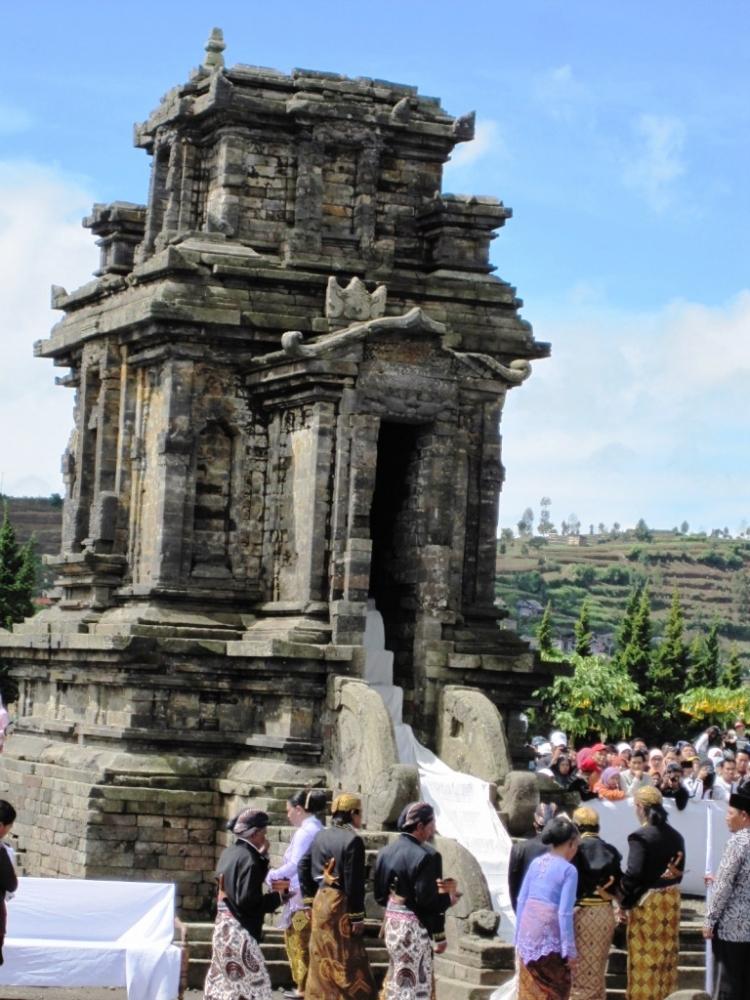 Bandar Wisata-Dieng  Culture Festival (DCF) IV: Nikmatnya jamu Purwoceng di Negeri para Dewa