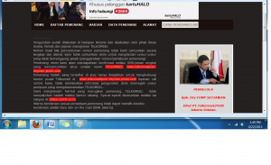 """Penipuan Gaya Baru """"Telkomsel Palsu"""" Pakai Website Gratisan"""