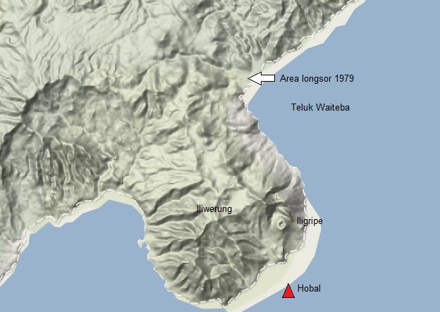 Meletusnya Gunung Hobal, Gunung Berapi Bawahlaut Nusa Tenggara