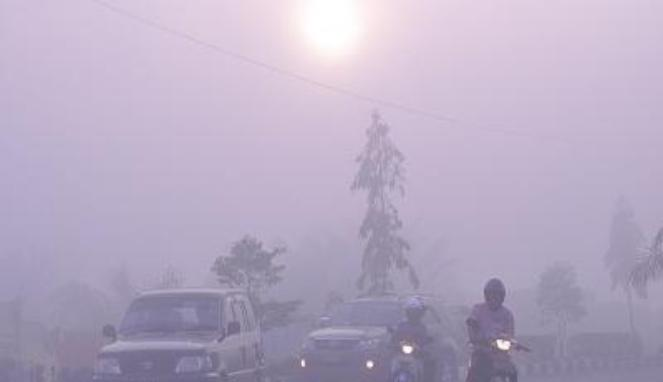 Kabut Asap Riau 2013, Terparah!