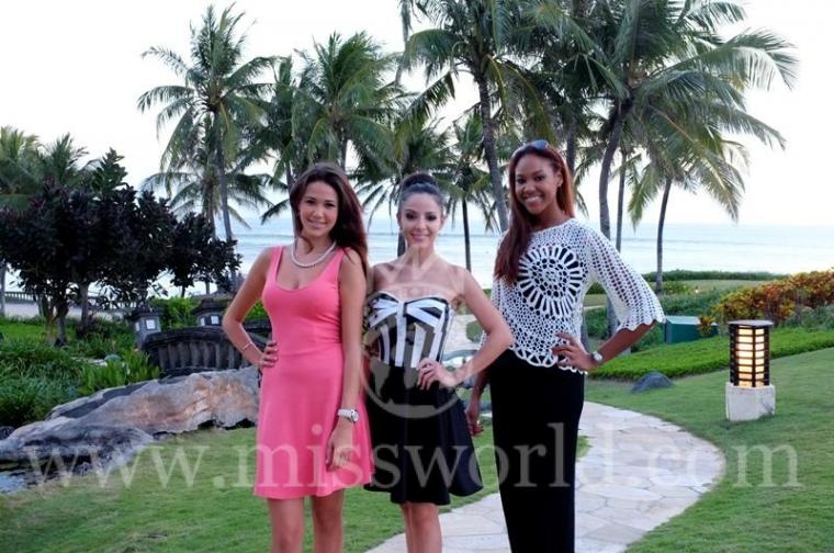 Kontestan Miss World 2013 Langsung Cinta Bali