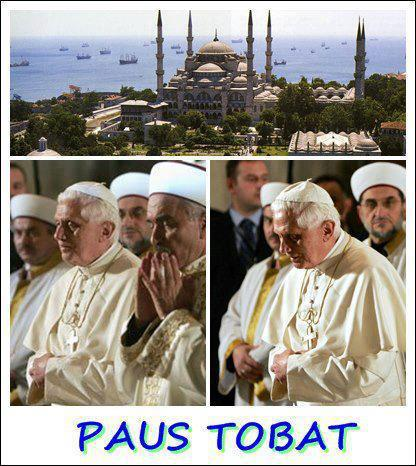 Paus Benedictus XVI Mualaf? Sebuah Refleksi atas Peran Media