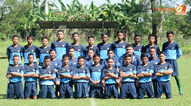 Trend rambut Mohawk menjadi simbol kekompakan Timnas Indonesia U-14