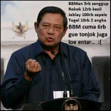 Foto Exclusive SBY Marah sama PKS (Bawa Senjata)