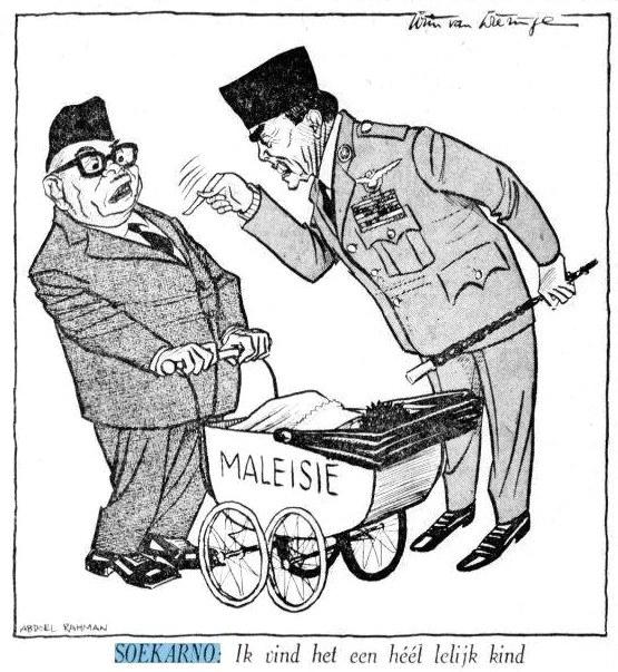Karikatur Soekarno dan Soeharto yang Ditabukan
