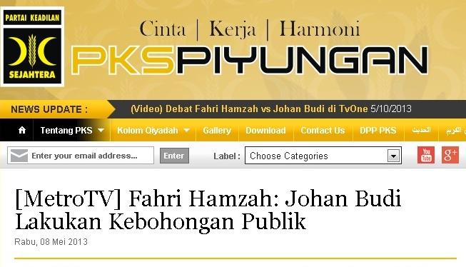 Pelintiran Informasi ala PKS Piyungan