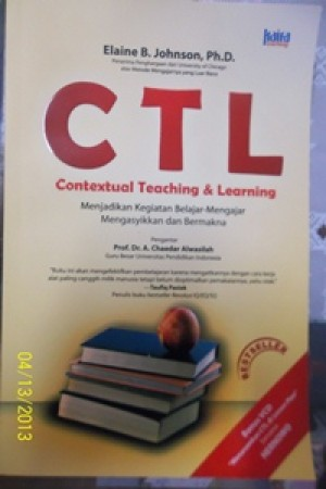"Mapping ""CTL-Contextual Teaching & Learning"""
