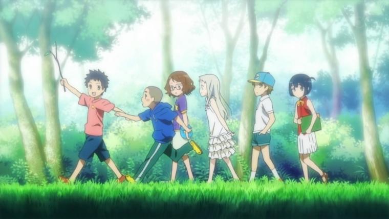 Ano Hana Anime persahabatan yang bikin banjir air mata