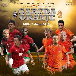 21 Punggawa Timnas Indonesia vs Timnas Belanda