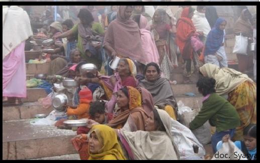 Pengemis India yang Menyedihkan