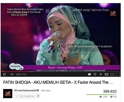 Fatin Shidqia - Aku Memilih Setia - YouTube