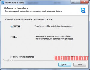 TeamViewer 8, Mengoperasikan PC dari Jarak Jauh