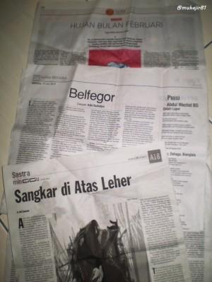 Catatan Cerpen Minggu (CCM) Edisi 14 Juli 2013