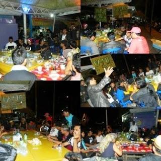 Kobaran Api di Road Show III Puisi Menolak Korupsi Banjarbaru