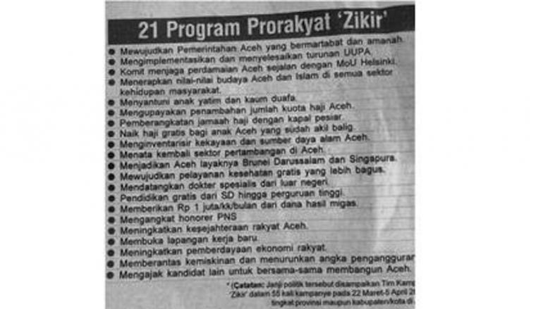 Mimpi Kabir Si Orang Aceh