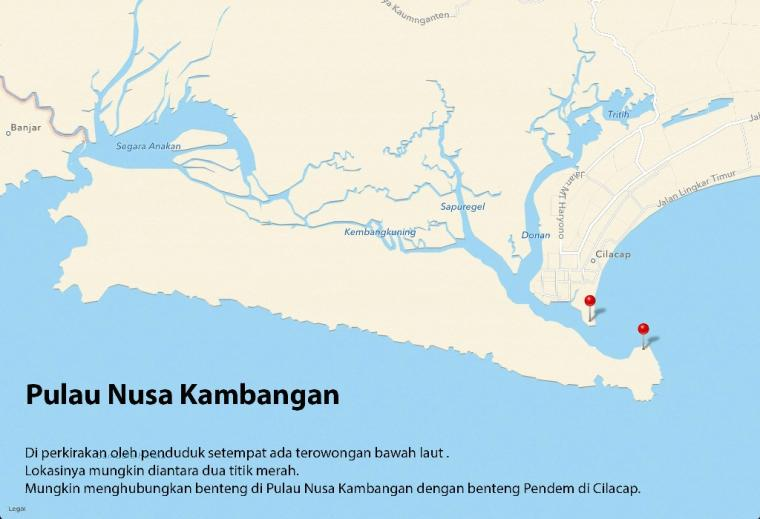 Benteng dan Terowongan Bawah Laut di Cilacap
