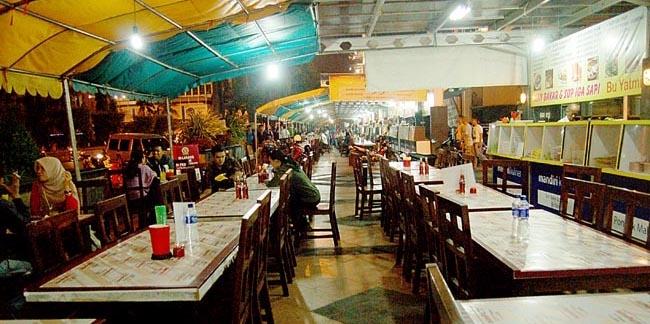Simpang Lima, Pusat Kuliner Kota Semarang