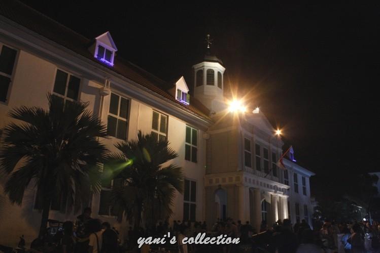[WPC-4] Berkreasi dengan Cahaya di Malam Hari (Edisi Hunting Foto Malam di Kawasan Kota Tua)