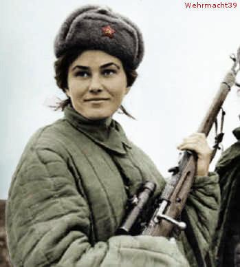 Si Cantik Berdarah Dingin (Lyudmila Pavlichenko)