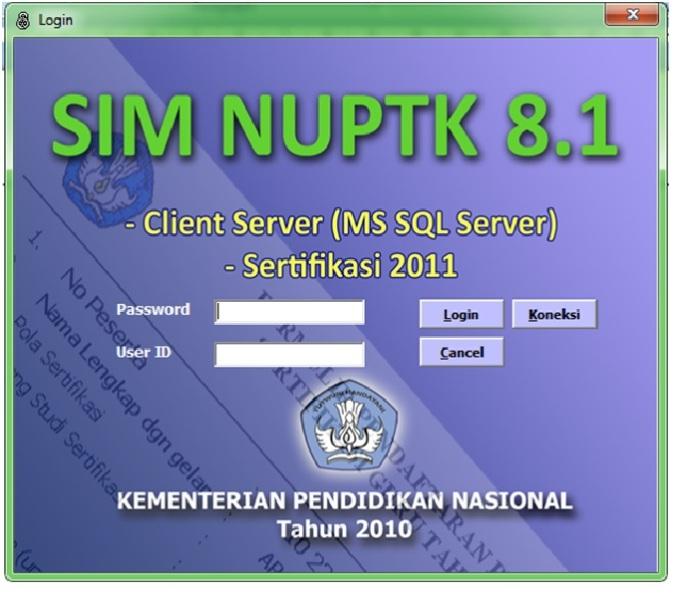 Pengajuan NUPTK: Mintalah Software SIM NUPTK