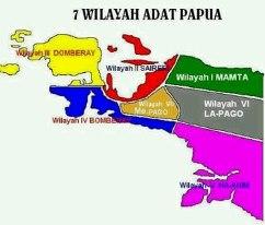 7 WILAYAH ADAT PAPUA