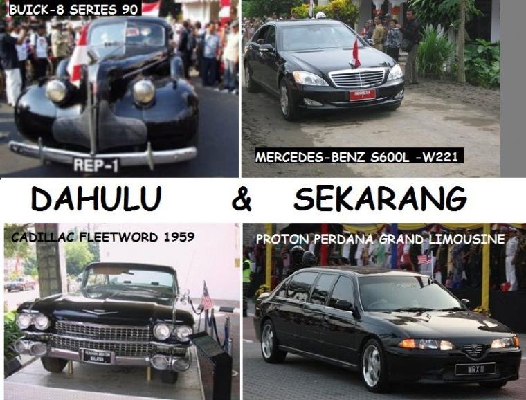 Mobil Dinas Presiden dan Perdana Menteri Dulu dan Sekarang