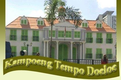 Kampoeng Tempo Doeloe di Gading La Piazza