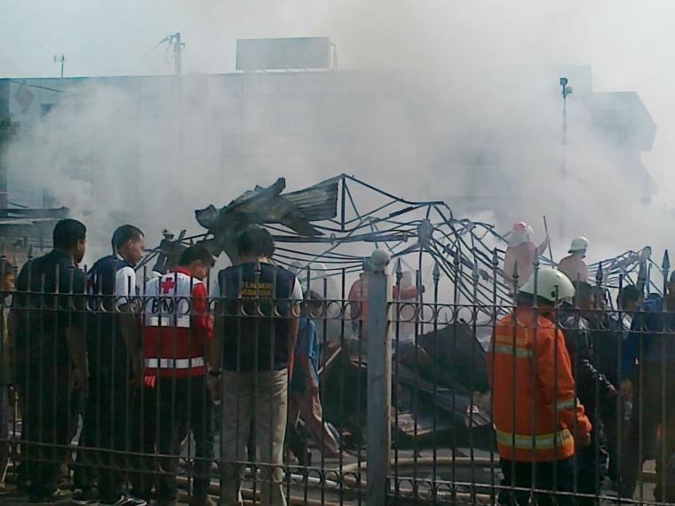 Kebakaran di Kramat Jati, Jakarta Timur