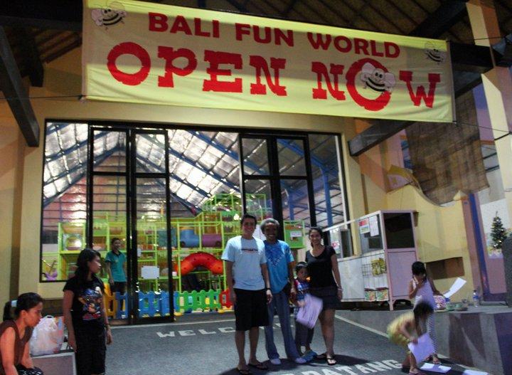 Bali Fun World : Wahana Bemain untuk Keluarga