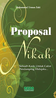 """Buku """"Proposal Nikah"""" 100% Royalti dan Profit Penjualan untuk Sedekah"""