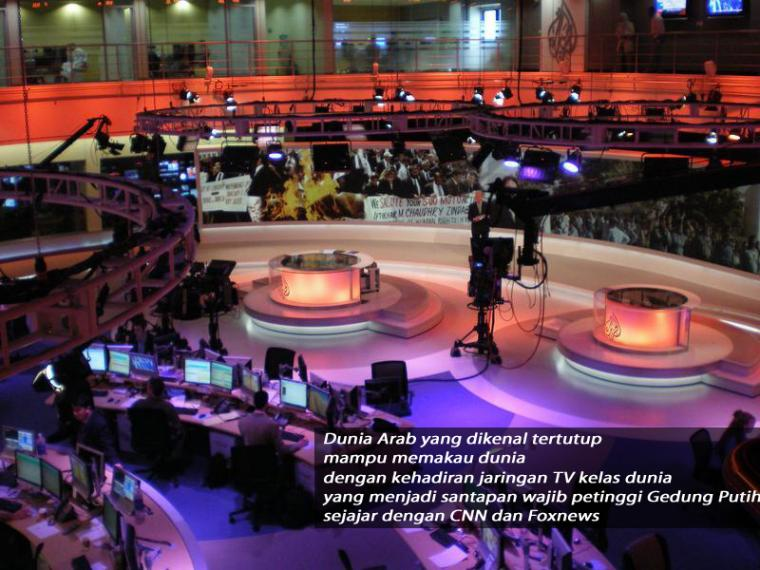 Kisah Sukses Al Jazeera Network (Inspirasi Untuk Metro TV dan TV One)
