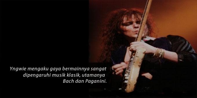Pesona Sayatan Gitar Yngwie Malmsteen