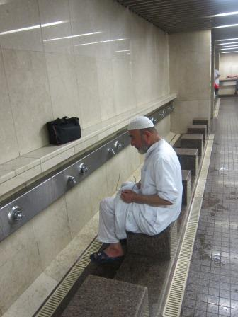 Info Haji, Tempat Wudhu Duduk di Masjidil Haram