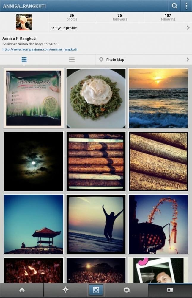 WPC 22: Instagram, Mainan Asyik Bagi Pecinta Fotografi